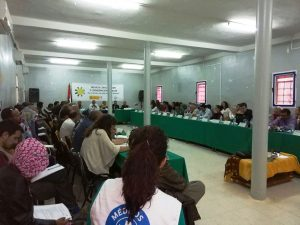 Participantes en la Mesa